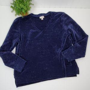 Maison Jules V-Neck Sweater XL